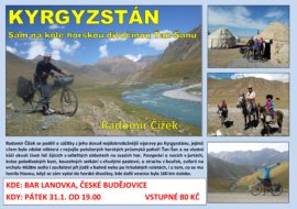 31.1. Promítání – Kyrgyzstán: Sám na kole horskou divočinou Ťan Šanu